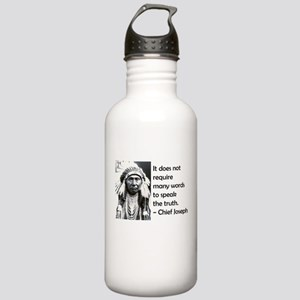 Truth Quote Stainless Water Bottle 1.0L