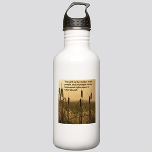 Chief Joseph Earth Quote Stainless Water Bottle 1.