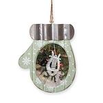 Christmas Tree Kitten Mitten Ornament