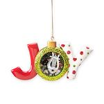 Christmas Tree Kitten Joy Ornament