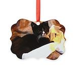 Mischief Kitten Picture Ornament