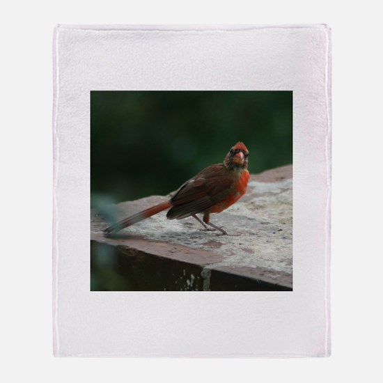 Birdingliness Throw Blanket