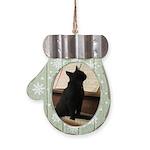 Piano Kitty Mitten Ornament