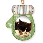 Catnap Mitten Ornament
