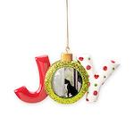 Kitty in Window pt. 5 Joy Ornament