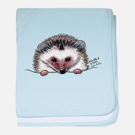 Pocket Hedgehog baby blanket