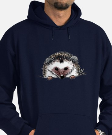Pocket Hedgehog Hoodie (dark)