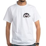 Pocket Hedgehog White T-Shirt