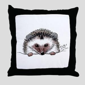 Pocket Hedgehog Throw Pillow