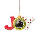 Sleepy Kitty Joy Ornament