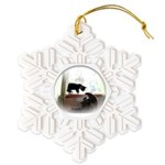 Avzer and Angel Snowflake Ornament