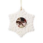 Lazing Snowflake Ornament