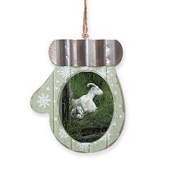 Goats Mitten Ornament