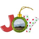 Harvest Time Joy Ornament