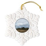 Harvest Time Snowflake Ornament