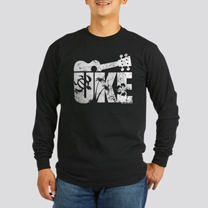 The Uke Long Sleeve Dark T-Shirt