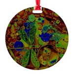 Magical Dragonfly Design Round Ornament