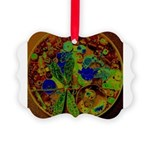 Magical Dragonfly Design Picture Ornament
