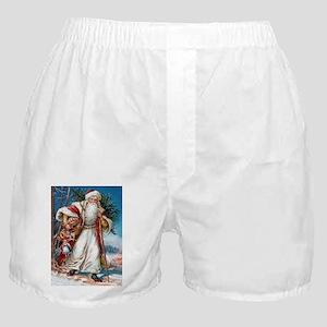 Victorian St. Nicholas Boxer Shorts
