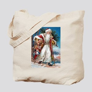Victorian St. Nicholas Tote Bag