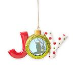 Psychedelic Owl Joy Ornament