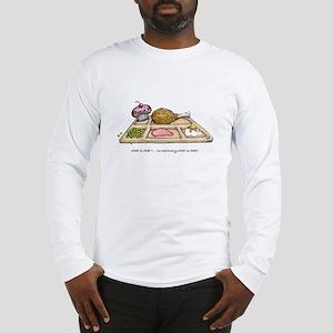 I SURVIVED THE SWINE FLU Long Sleeve T-Shirt