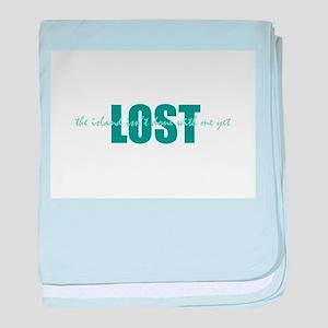 LOST Island baby blanket