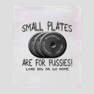 Small plates... Throw Blanket