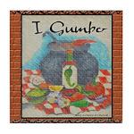 """I Gumbo"" Tile Coaster"