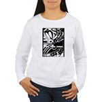 Abstract Women's Long Sleeve T-Shirt