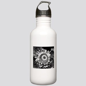 Sunflower in Contrast Stainless Water Bottle 1.0L