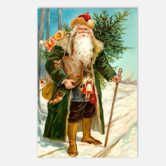 Victorian St. Nicholas Postcards (Package of 8)