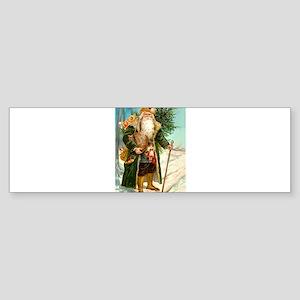 Victorian St. Nicholas Sticker (Bumper)