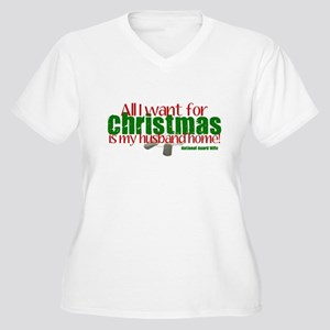 All I want NG Wife Women's Plus Size V-Neck T-Shir