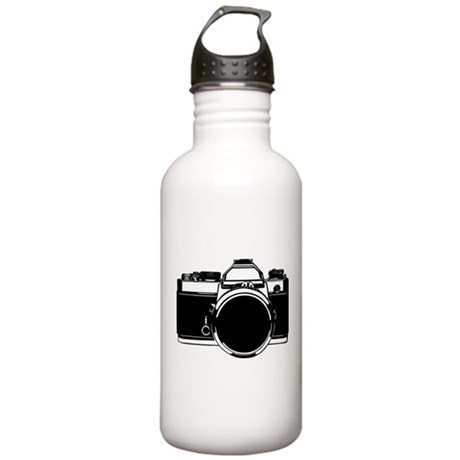 SLR Camera Stainless Water Bottle 1.0L