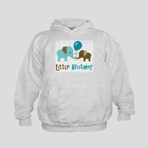 Little Brother - Mod Elephant Kids Hoodie