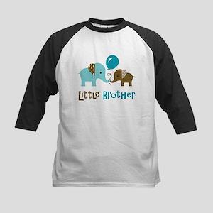 Little Brother - Mod Elephant Kids Baseball Jersey