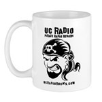 UC Radio coffee mug
