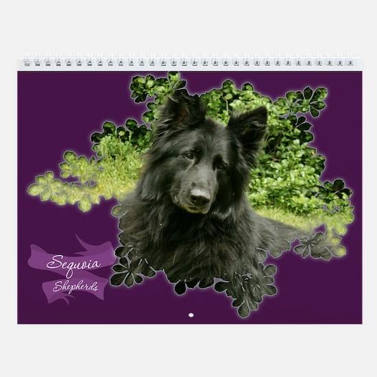 Sequoia's Wall Calendar :2011