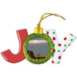 Prairie Moonscape Joy Ornament