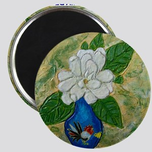 Gardenia in Bud Vase Magnet