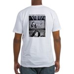 Movie Night in Republican Heaven Fitted T-Shirt