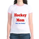 Hockey Mom Jr. Ringer T-Shirt