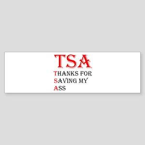 TSA Sticker (Bumper)