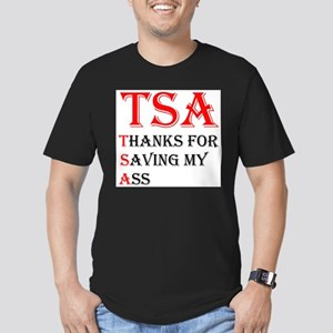 TSA Men's Fitted T-Shirt (dark)