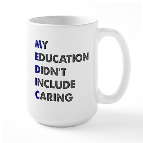 My Education Large Mug