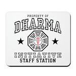 Dharma Staff Station Mousepad