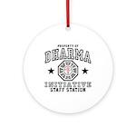 Dharma Staff Station Ornament (Round)
