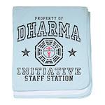 Dharma Staff Station baby blanket
