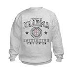 Dharma Staff Station Kids Sweatshirt